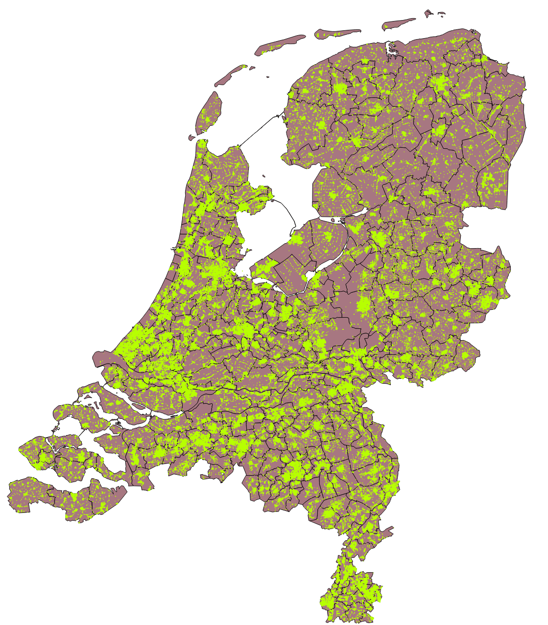 All solar panels within the Netherlands